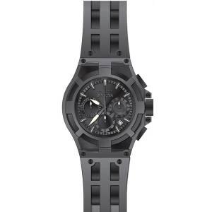 [インヴィクタ]Invicta Akula Grey Polyurethane Band Steel Case Swiss Quartz Black Dial 22368