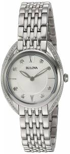 [ブローバ]Bulova  Quartz Stainless Steel Casual Watch, Color:SilverToned 96R212 レディース
