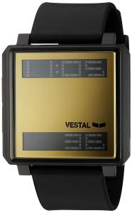 [ベスタル]Vestal 'Transom' Quartz Stainless Steel and Polyurethane Casual Watch, TRADR07
