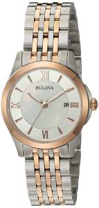 [ブローバ]Bulova  Quartz Stainless Steel Casual WatchMulti Color 98M125 レディース