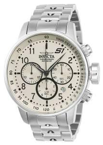 [インヴィクタ]Invicta 'S1 Rally' Quartz Stainless Steel Casual Watch, Color:SilverToned 23077