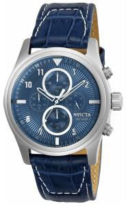 [インヴィクタ]Invicta  'Aviator' Quartz Stainless Steel and Leather Casual Watch, 22977