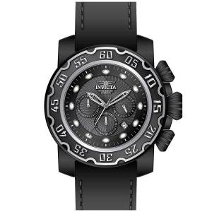 [インヴィクタ]Invicta 腕時計 Lupah Chronograph Black Dial Watch 22485 メンズ
