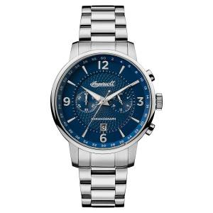 [インガソール]Ingersoll  Quartz Stainless Steel Casual Watch, Color:SilverToned I00604