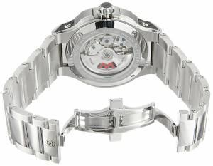 [モバード]Movado  Swiss Automatic Stainless Steel Casual Watch, Color:SilverToned 0606842