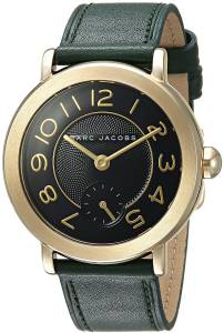 [マーク ジェイコブス]Marc Jacobs  Riley Green Leather Watch MJ1469 レディース