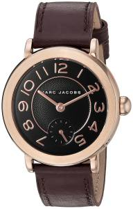 [マーク ジェイコブス]Marc Jacobs  Riley Oxblood Leather Watch MJ1470 レディース