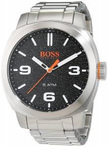 [ヒューゴボス]HUGO BOSS  1513454 Cape Town Black Dial Stainless Steel Watch 7613272221238