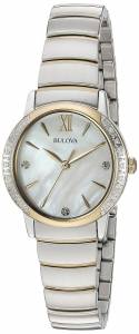 [ブローバ]Bulova  Quartz Stainless Steel Casual WatchMulti Color 98R231 レディース