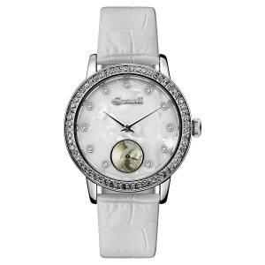 [インガソール]Ingersoll  Quartz Stainless Steel Casual Watch, Color:White ID00701