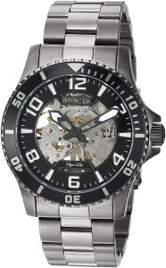 [インヴィクタ]Invicta 'Objet D Art' Automatic Stainless Steel Casual Watch, Color:Grey 22606