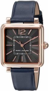 [マーク ジェイコブス]Marc Jacobs 腕時計 Vic Navy Leather Watch MJ1523 レディース