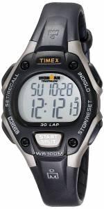 [タイメックス]Timex  Ironman 30Lap Digital Quartz MidSize Watch, Black/Gray T5E961