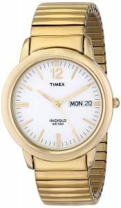 [タイメックス]Timex  Elevated Classics Dress GoldTone Expansion Band Watch T21942 メンズ
