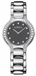 [エベル]EBEL Beluga Lady Diamond 30.5 mm Watch Grey Dial, Stainless Steel Bracelet Ebe-0362