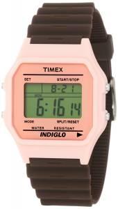 [タイメックス]Timex 腕時計 Fashion Digitals Premium Pink Watch T2N2419J レディース