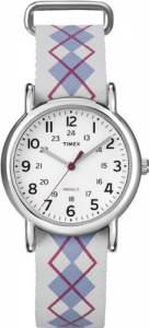 [タイメックス]Timex 腕時計 T2N918 Style Weekender Grey Watch T2N918PF [並行輸入品]