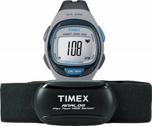 [タイメックス]Timex T5K738 Personal Trainer Analog HRM Flex Tech Chest Strap & T5K738F5