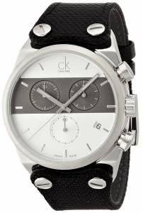 [カルバン クライン]Calvin Klein 腕時計 Eager Quartz Watch K4B381B6 メンズ