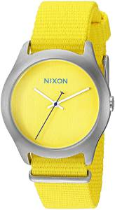 [ニクソン]NIXON  Mod Analog Display Japanese Quartz Yellow Watch A348-1599-00 レディース