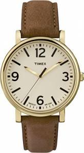 [タイメックス]Timex 腕時計 Originals Originals Brown Leathe Strap Watch T2P527