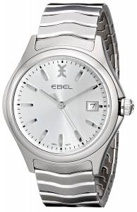 [エベル]EBEL 腕時計 Wave Analog Display Swiss Quartz Silver Watch 1216200 メンズ