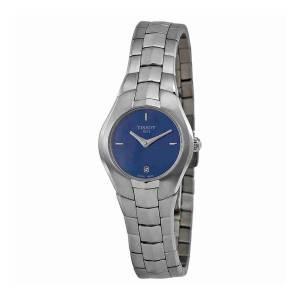 [ティソ]Tissot 腕時計 T Trend T Round Blue Dial Stainless Steel Watch T0960091113100
