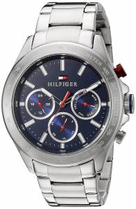 [トミー ヒルフィガー]Tommy Hilfiger Hudson Analog Display Japanese Quartz Silver 1791228