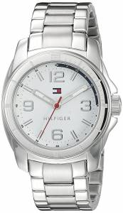 [トミー ヒルフィガー]Tommy Hilfiger Tommy Sport Analog Display Quartz Silver Watch 1791213
