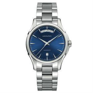 [ハミルトン]Hamilton 腕時計 Jazzmaster Blue Dial Stainless Steel Watch H32505141 メンズ