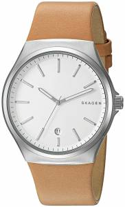 [スカーゲン]Skagen 腕時計 Sundby Light Brown Leather Watch SKW6261 メンズ