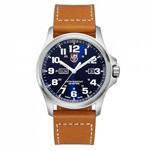 [ルミノックス]Luminox  Atacama Blue Dial Stainless Steel Leather Quartz Watch 1924 A.1924