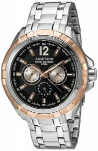 [アーミトロン]Armitron 腕時計 20/5095BKRG メンズ [並行輸入品]