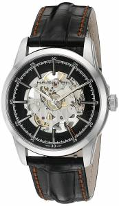 [ハミルトン]Hamilton 'Timeless Classic' Swiss Automatic Stainless Steel and Leather H40655731