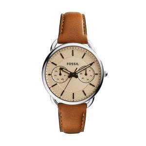 [フォッシル]Fossil  Tailor Multifunction Stainless Steel Watch with Leather Band ES3950