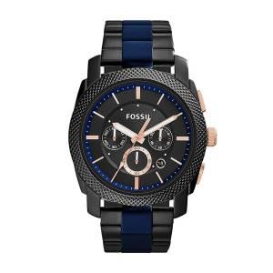 [フォッシル]Fossil 腕時計 Machine TwoTone Stainless Steel Watch FS5164 メンズ