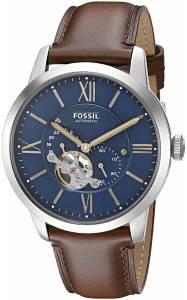 [フォッシル]Fossil 腕時計 Townsman Automatic Brown Leather Watch ME3110 メンズ