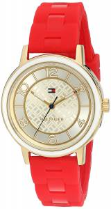 [トミー ヒルフィガー]Tommy Hilfiger Quartz Silver and Gold and Silicone Casual 1781668
