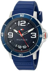 [トミー ヒルフィガー]Tommy Hilfiger Quartz Resin and Silicone Casual Watch, 1791250