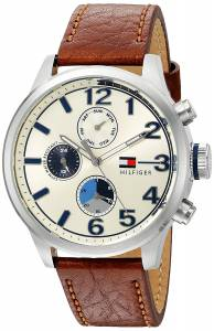 [トミー ヒルフィガー]Tommy Hilfiger Quartz Stainless Steel and Leather Casual 1791239