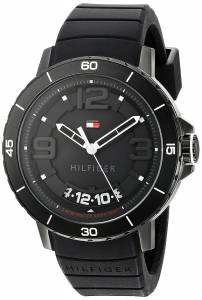[トミー ヒルフィガー]Tommy Hilfiger Quartz Resin and Silicone Casual Watch, 1791249