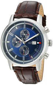 [トミー ヒルフィガー]Tommy Hilfiger Quartz Stainless Steel and Leather Casual 1791244