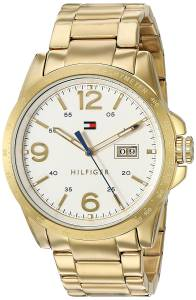 [トミー ヒルフィガー]Tommy Hilfiger  Quartz Tone and Gold Plated Casual Watch 1791256