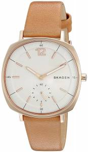 [スカーゲン]Skagen 腕時計 Rungsted Light Brown Leather Watch SKW2418 レディース