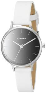 [スカーゲン]Skagen  Anita Quartz Stainless Steel and Leather Casual Watch SKW2414