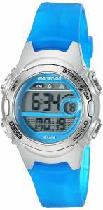 [タイメックス]Timex  Marathon by TW5K96900 Digital MidSize Blue/SilverTone Resin TW5K96900M6