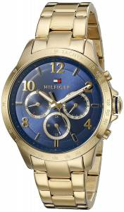 [トミー ヒルフィガー]Tommy Hilfiger  'DANI' Quartz Gold Plated Casual Watch 1781643