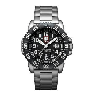 [ルミノックス]Luminox  3152Nv Navy Seal Colormark 3150 Ss Black Dial Watch XS.3152.NV