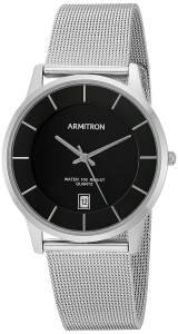 [アーミトロン]Armitron 腕時計 20/5123BKSV メンズ [並行輸入品]