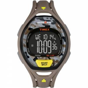 [タイメックス]Timex 腕時計 Ironman Sleek 50 FullSize Watch Grey/Yellow Camo TW5M013009J